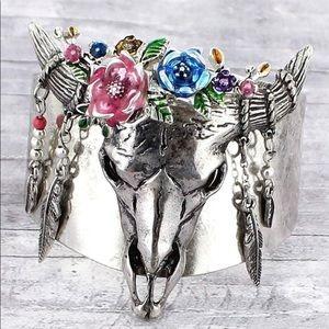Jewelry - Boho Silver Cuff Bracelet
